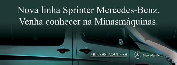 Lançamento Nova Linha Sprinter na Minasmáquinas Mercedes Benz.