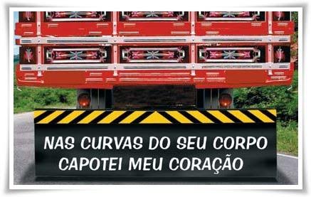 Para Choques De Caminhão Refletindo Na Estrada Blog Da Minasmaquinas