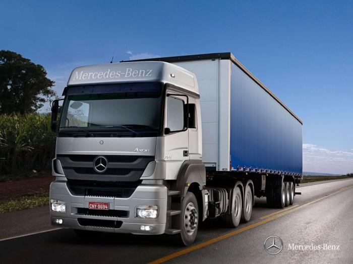 Os modelos de caminhões das linhas Axor e Actros Mercedes-Benz já estão saindo da linha de produção equipados com o sistema de gerenciamento de frota Fleetboard.