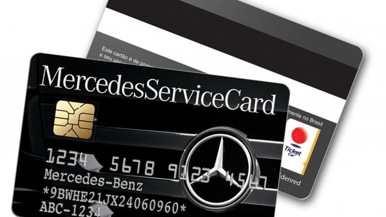 MercedesServiceCard - Minasmáquinas